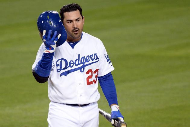 Adrian Gonzalez Injury: Updates on Dodgers Star's Neck