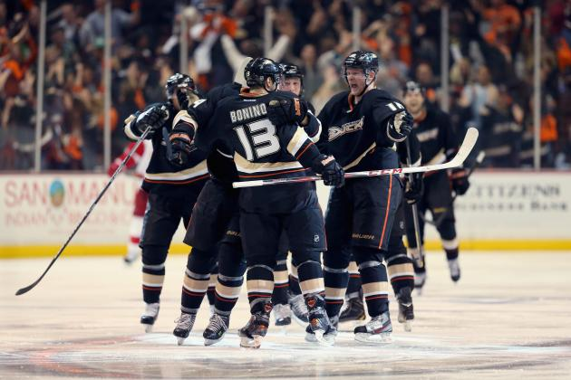 VIDEO: Nick Bonino Scores Winner in Overtime for Ducks