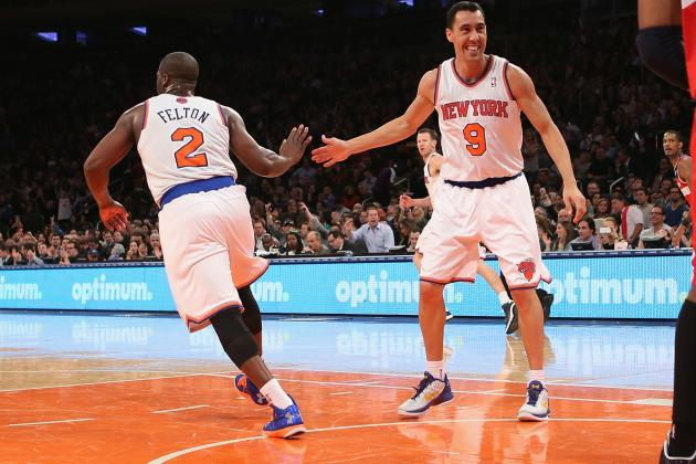 NY Knicks Sticking with Small-Ball Lineup Will Pay off in 2013 Playoffs