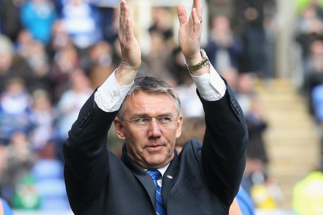 Reading Boss Nigel Adkins Already Looking to Championship Battle
