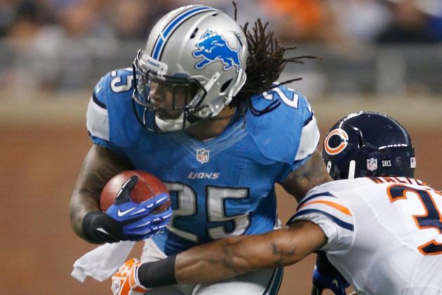 Study Shows Detroit Lions' Mikel Leshoure Faced Eight Defenders