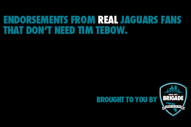 Tired of Tebow-mania, Jags fans start site