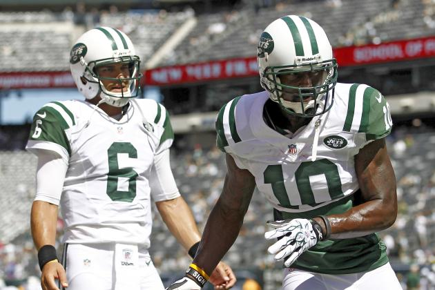 Santonio Holmes Says Mark Sanchez Is the 'team Leader' and Starting QB