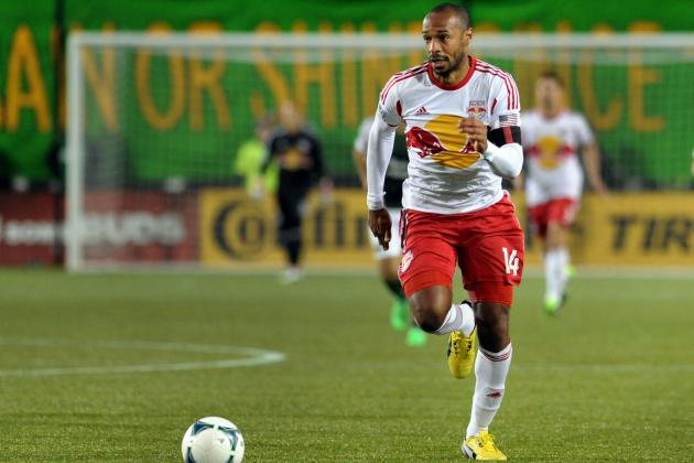 MLS Salaries Released; Thierry Henry Highest-Paid