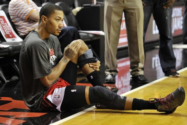 Derrick Rose: Your Team Needs You, It's Time to Suit Up