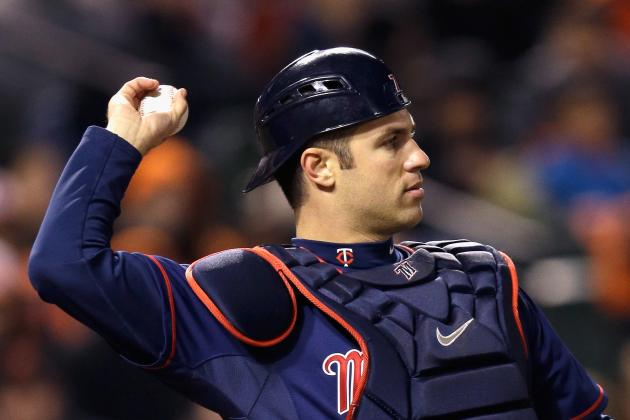 Mauer Leading Twins Catchers to Majors-Best Start vs. Runners