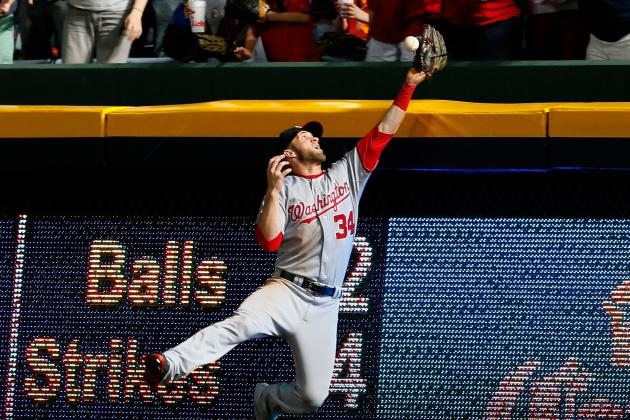 Bryce Harper Getting Comfortable at Every Outfield Position