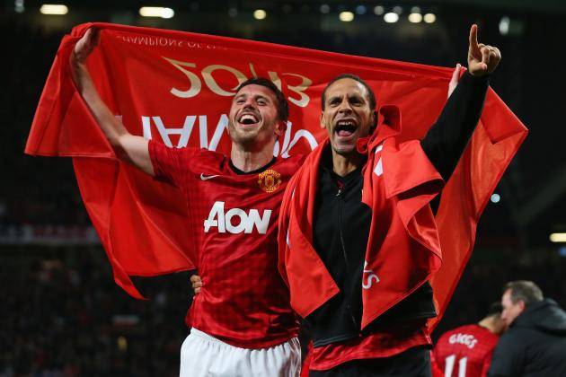 Rio Ferdinand and Michael Carrick Welcome David Moyes to Manchester United