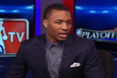 Watch Lillard's Guest  Appearance on NBA TV