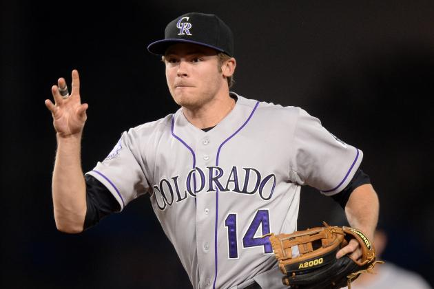Colorado Rockies' Patience with Infielder Josh Rutledge Is Paying off