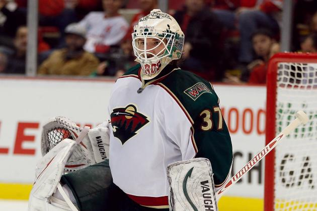 Harding in Net for Game 5 vs. Blackhawks