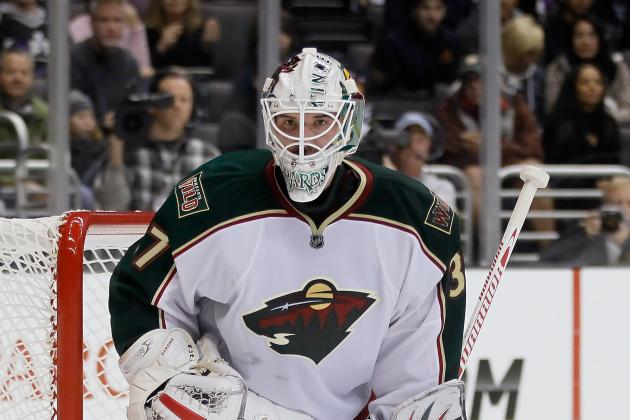 Harding Starts, Kuemper Backing Up for Wild in Game 5