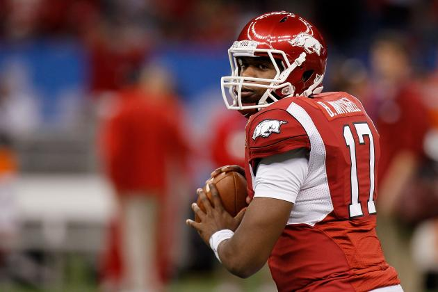 Ex-Arkansas QB Brandon Mitchell Reportedly Considering Transfer to Michigan