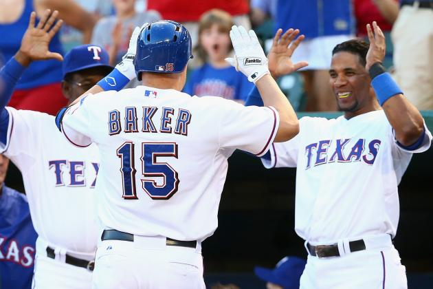 Rangers' Baker salutes Wounded Warriors