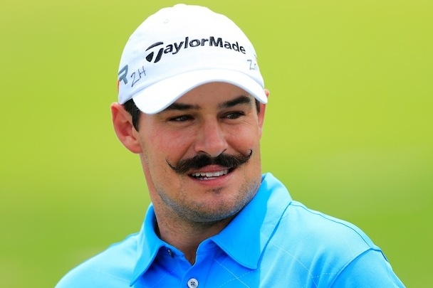 Johnson Wagner Has the Best Mustache in Golf