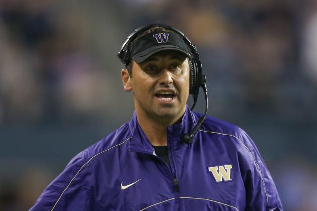 Washington Coach Steve Sarkisian