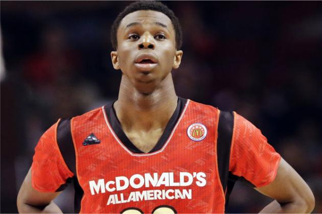 Andrew Wiggins' Decision Boosts Kansas' Recruiting Class to the Top