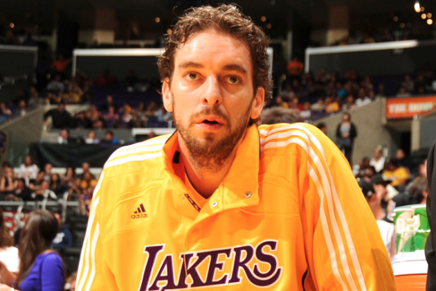 Pau Gasol Will Regenerate Patellar Tendons During 2013 Offseason