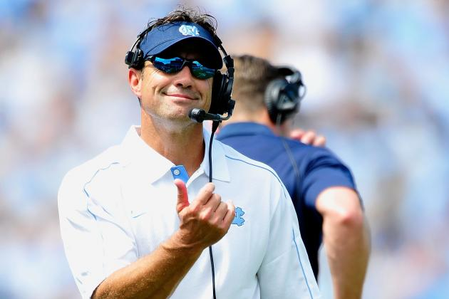 Checking in with UNC OC Blake Anderson