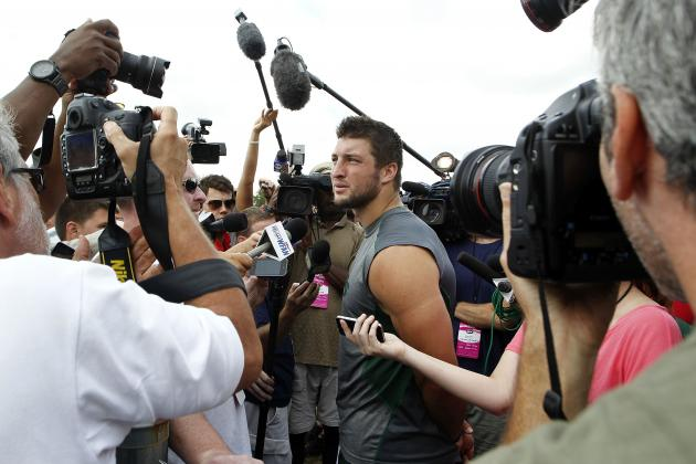 Tim Tebow Rumors: 'Blackballed' QB Must Ignore Media to Save NFL Career