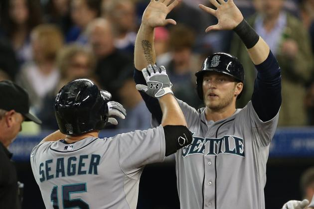 Michael Saunders Turning into Key Player at Top of Mariners' Lineup