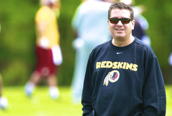 "Washington Redskins' Owner: ""We will never change the name of the team"""