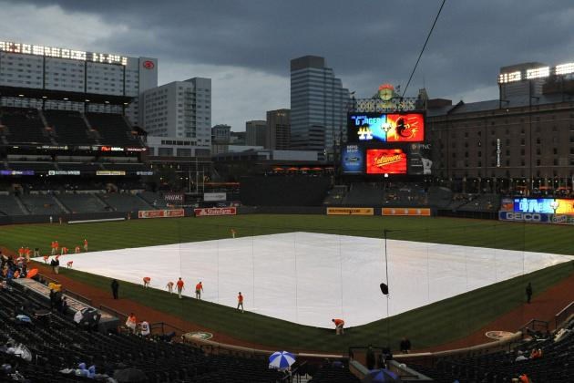 Start of Today's Orioles-Royals Game Delayed