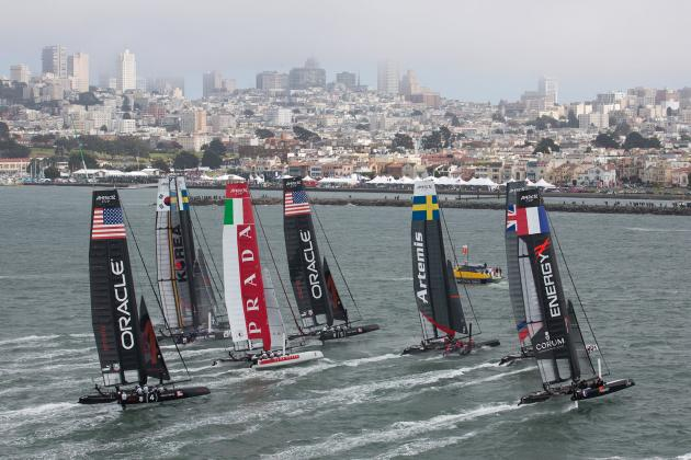 America's Cup Commits to Clean Regattas
