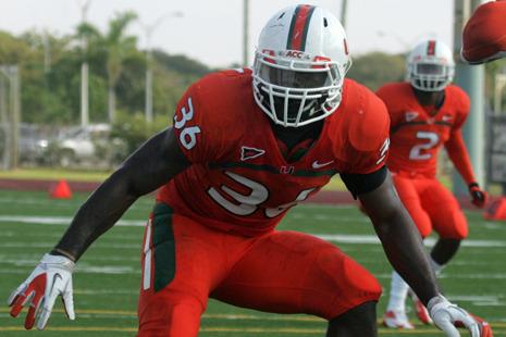Miami Football: 2013 Early Enrollees Gaining Big Depth Chart Advantage