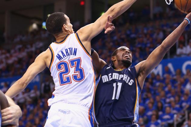 Thunder Defense Focuses on Stopping Memphis' Mike Conley