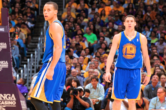 Stephen Curry and Klay Thompson Proving They Are Best Backcourt in 2013 Playoffs