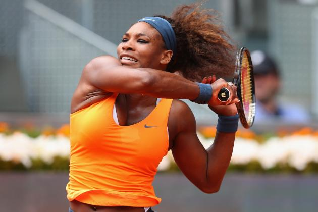 Serena Williams on the Right Track to Defend Madrid Open Title