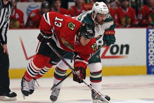 Blackhawks 5, Wild 1