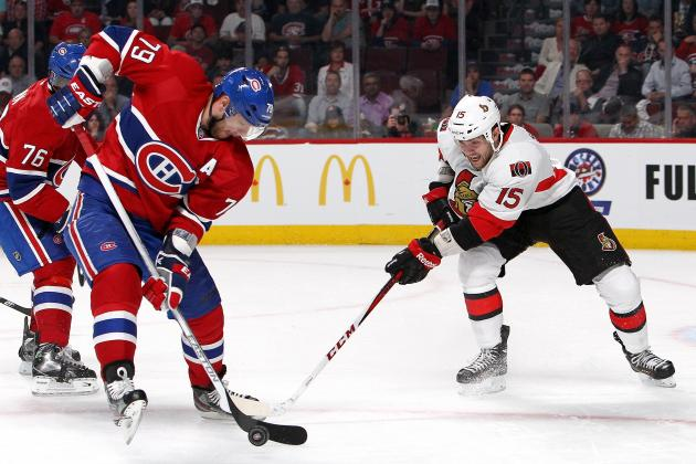 Senators Eliminate Canadiens in Game 5