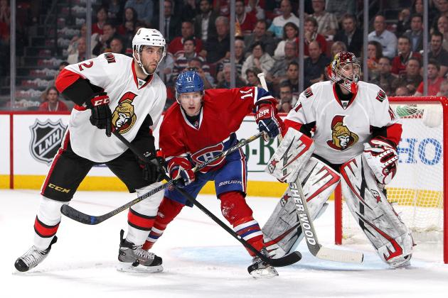 Conacher, Senators Rout Canadiens in Game 5 to Finish off Round 1 Series