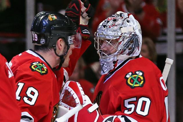 Blackhawks Rout Wild to Win 1st-Round Series