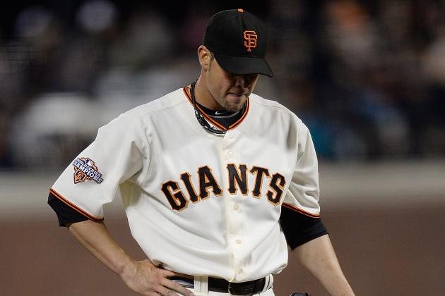 Vogelsong Roughed Up Again in SF Giants' Third Loss in 4 Games