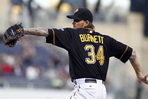 A.J. Burnett Continues to Shine as Ace