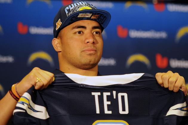 Te'o Signs with Chargers