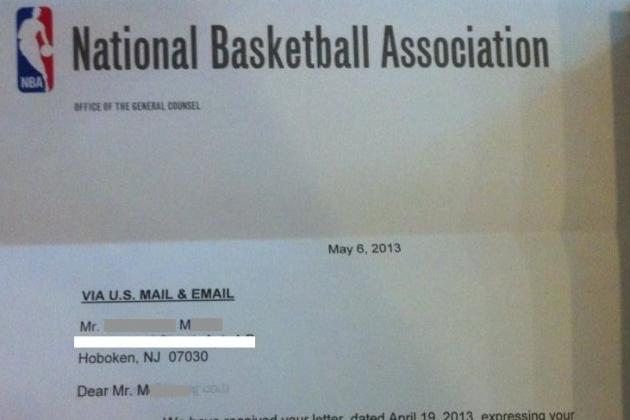 2013 NBA Draft: Letter to Drunk Entrant/Redditor (PHOTOS)