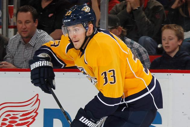 Preds' Wilson out 4-6 Months After Shoulder Surgery