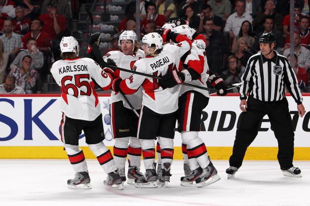 Life Is Good for the New-Look Senators