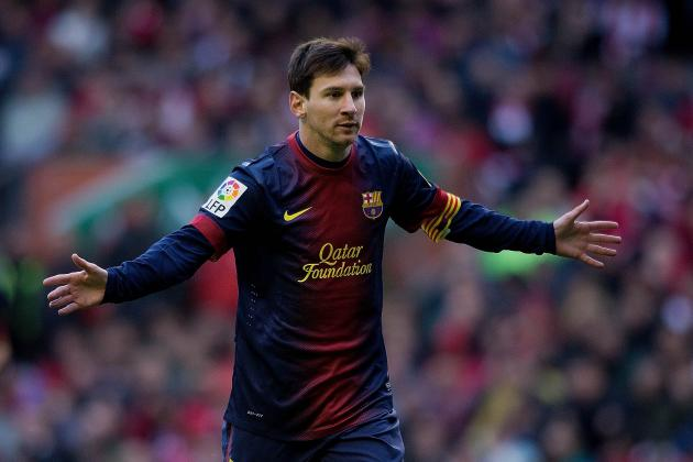 Messi Hungry for New Record