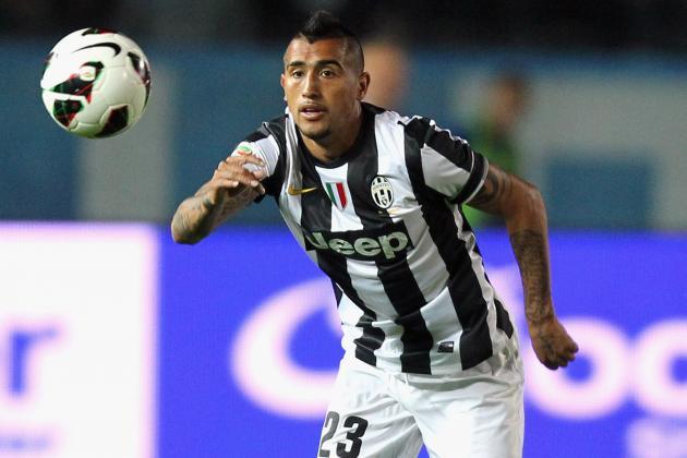 Vidal Scoops Juventus Player of the Year Award
