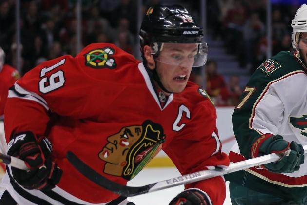 Toews Gets This Nod for Hart, Not Ovechkin