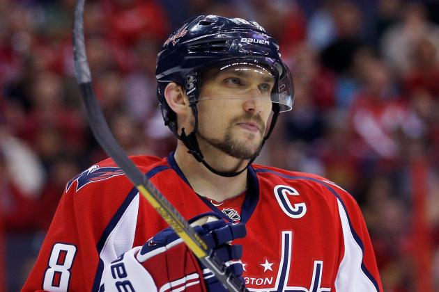 Alex Ovechkin Happy to Be Hart Trophy Finalist but Focused on Playoffs