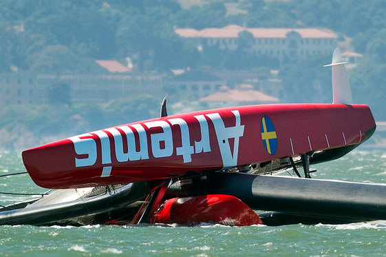Olympian Dies in America's Cup Training After Yacht Flips