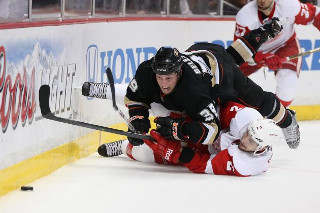 Grueling Travel Schedule Adds to Challenges Facing Detroit and Anaheim