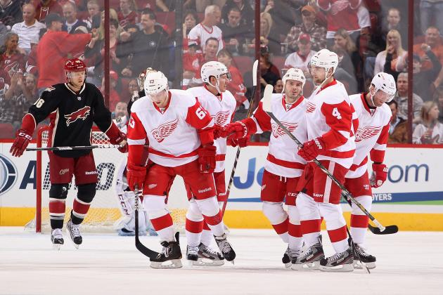 Drew Sharp: Red Wings Should Stick with Youngsters Until the End