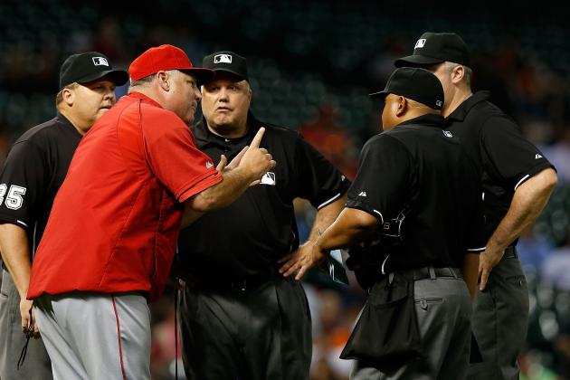 MLB Admits Umps Blew Call in Angels-Astros Game